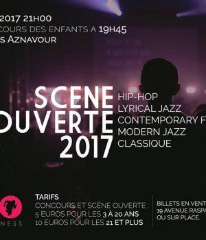 Scène ouverte 2017